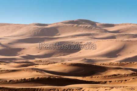 dunas no deserto de sahara marrocos