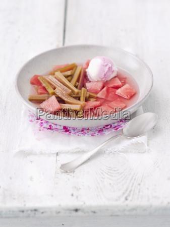 comida interior dulce frio verano veraniego