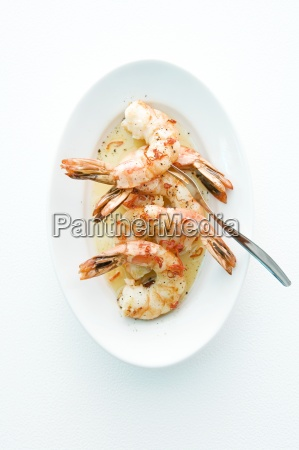 comida interior serie cocina simple crustaceo