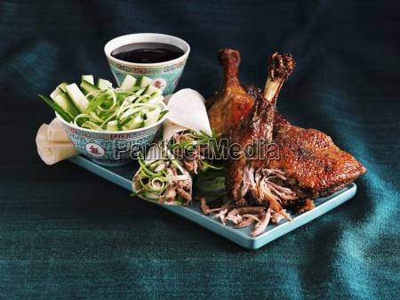 alimento dentro asia serie cozinha china