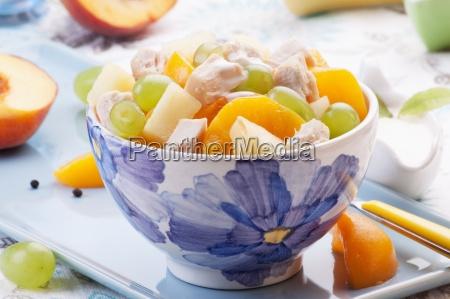 comida interior fruta con sabor a