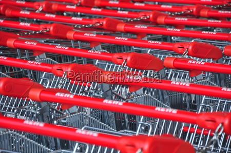 compras supermercado carrinho compra manipula neueroeffnung