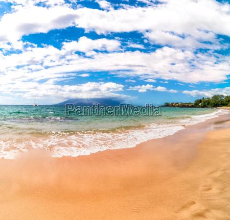 famoso praia beira mar da praia