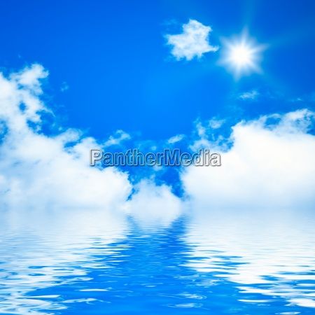 ceu azul