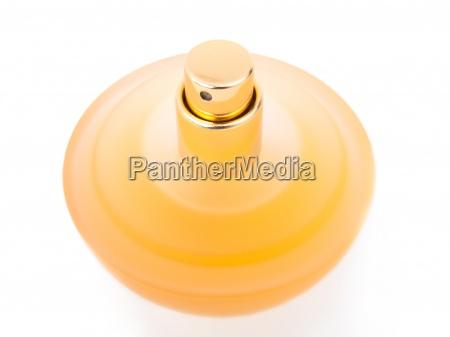 garrafa bonito amarelo do perfume