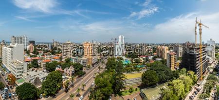 casas cidade turismo africa olhar vista