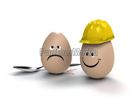 pascoa ovo capacete engracado arbeitsschutz