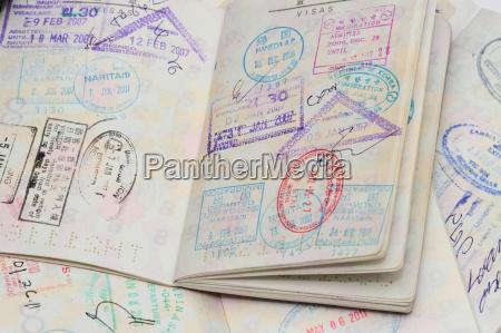 visa on passport