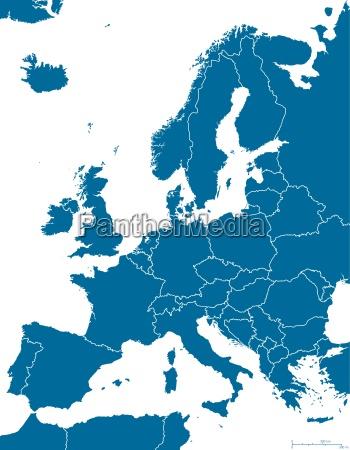 esboco do mapa politico da europa
