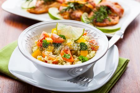 salada de cuscuz