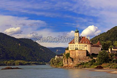 castelo schoenbuehel no danubio