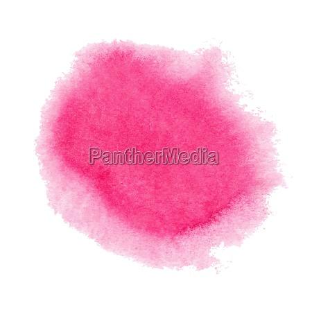 mancha rosa aquarela