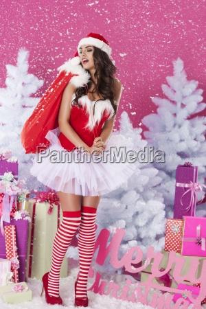 eu vou com presentes de natal