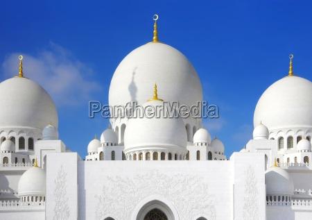 mesquita do sheikh zimmer em abu