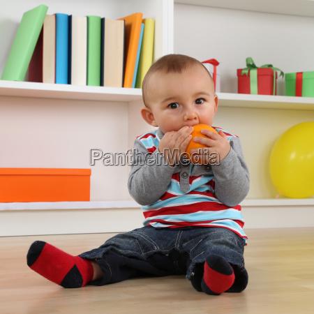 laranja frutas bebe infantil fruta crianca