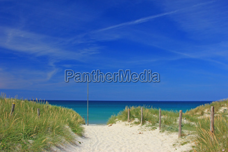 praia em brittany france