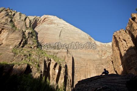 relaxamento parque nacional eua horizontalmente ao