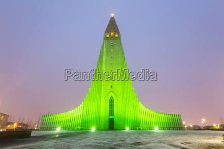 catedral reykjavik islandia de hallgrimskirkja