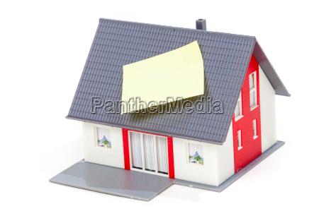bom modelo de casa com nota