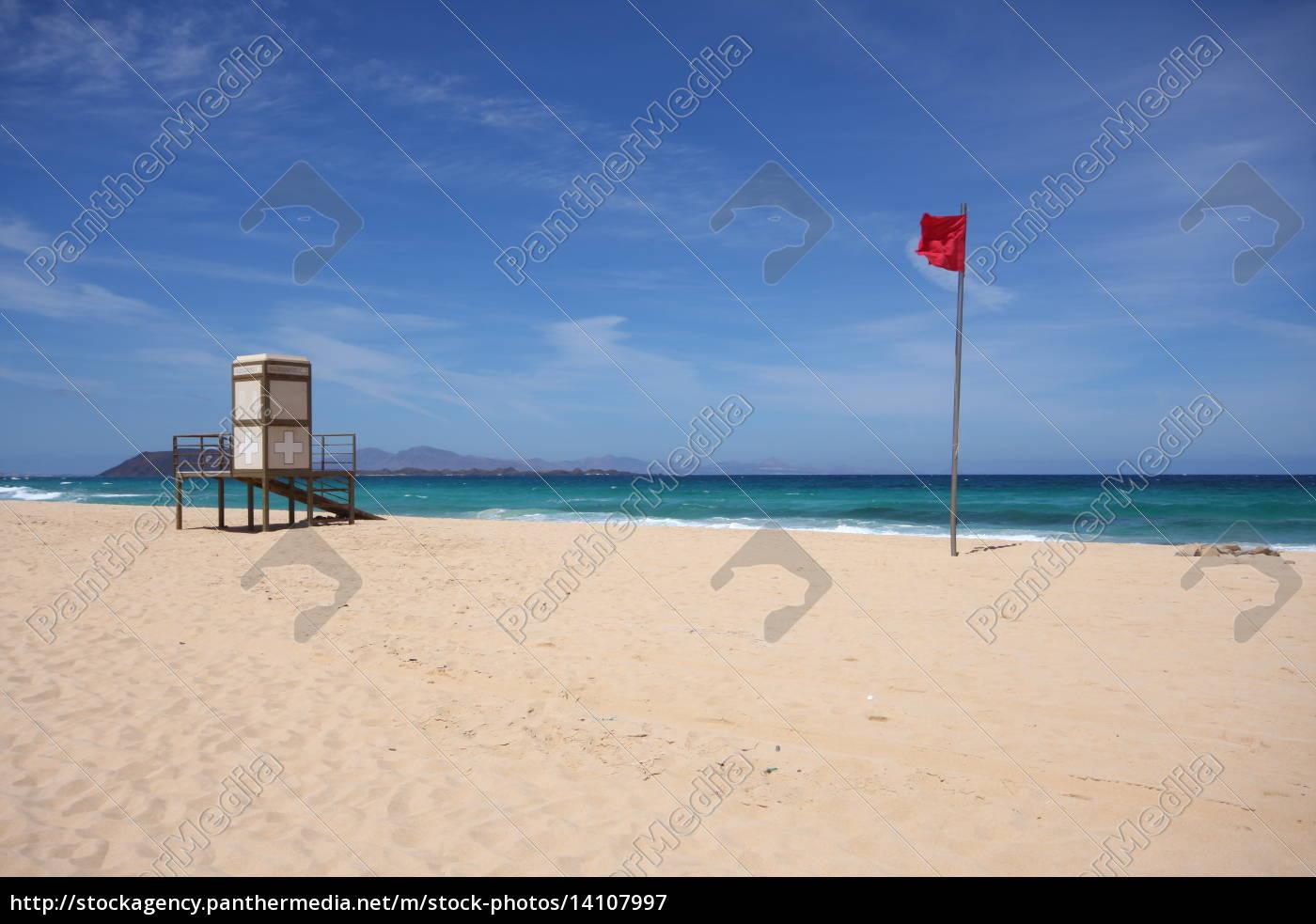 bandeira, estado, canário, salva-vidas, proibição de banho, suporte - 14107997
