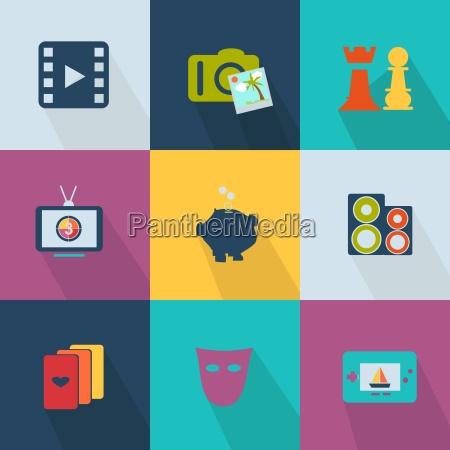 Icone do negocio web do estilo