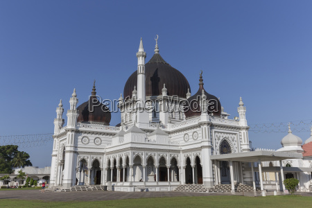 masjid zahir na cidade de alor
