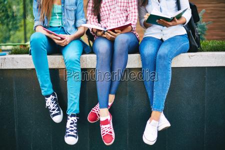 meninas que leem