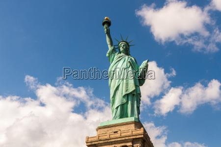 estatua de liberdade em new york