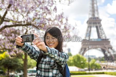 turista asiatico atrativo novo em paris