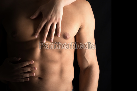 moda elegante bonito abdominais corpo fitness
