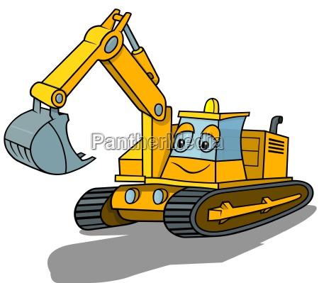 maquina escavadora de sorriso