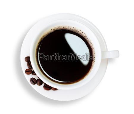 trajeto de grampeamento isolado do cafe
