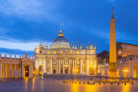 basilica do st peter no vatican
