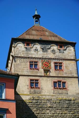 azul torre historico cidade ferias janela