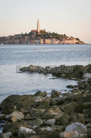 vista da cidade de rovinj