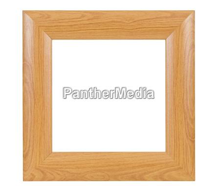 moldura de madeira quadrado escuro