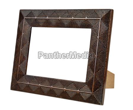 bronze decorativa frame de retrato vazio