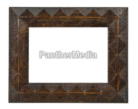 bronze decorativo frame de retrato vazio