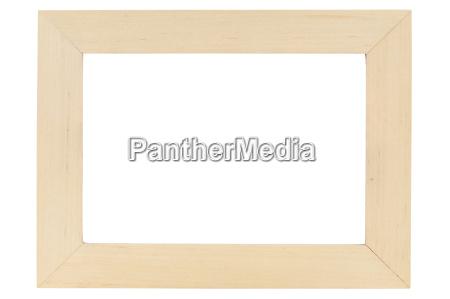 frame de retrato de madeira no