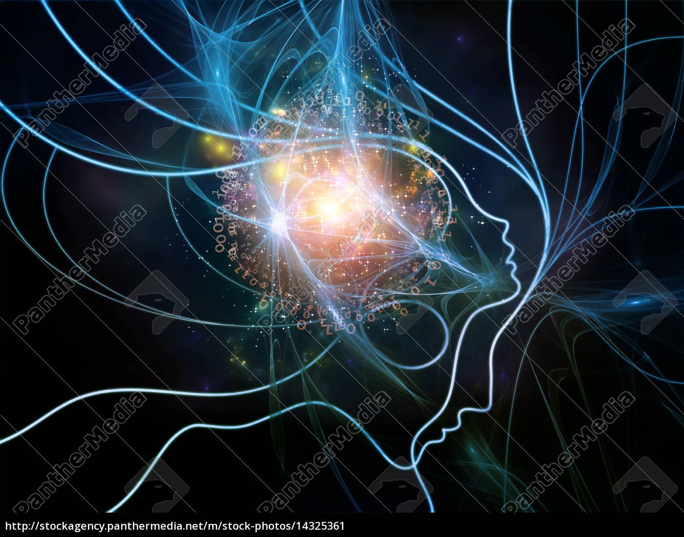 luzes, do, pensamento, rede - 14325361
