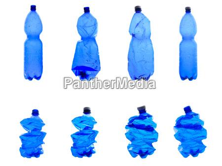 garrafas de plastico