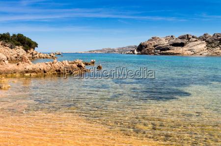 praia em sardenha