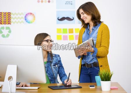 casual businesswomen