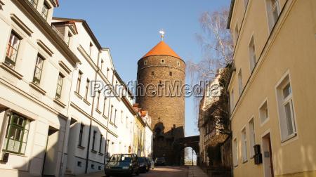 torre cidade velha saxonia estilo de