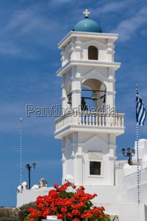 bell tower in imerovigili