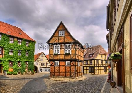 cidade velha de quedlinburg cidade