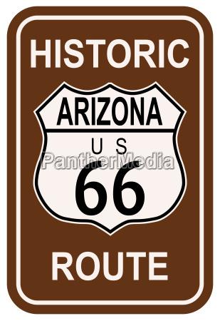 rota historica do arizona 66