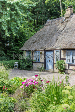 charming half timbered house with a