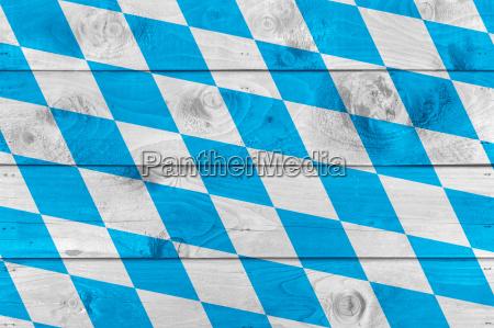 bandeira bavara em placas de madeira
