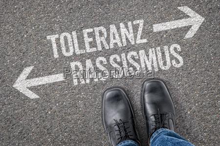 direcao tolerancia decisao decidir racismo estrangeiro